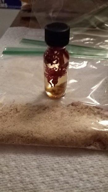 Bast Egyptian feline goddess oil, incense